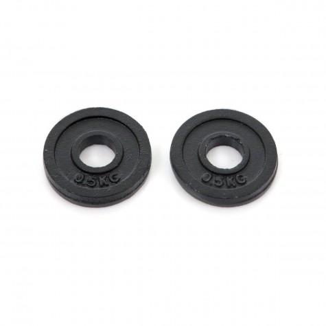 Весовые диски для гантелей FINNLO 2 x 0,5 кг