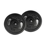 Finnlo FINNLO Gewichtsscheiben 2x 5 kg, schwarz schwarz