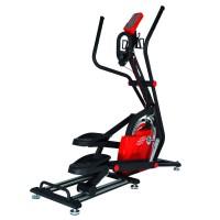 Finnlo Maximum FINNLO MAXIMUM Crosstrainer Spirit E-Glide schwarz/rot