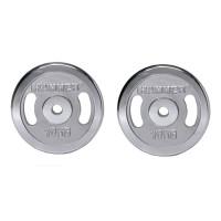 Finnlo FINNLO Gewichtsscheiben 2x 10 kg, chrom chrom