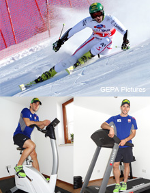 Skiing Professional Philipp Schörghofer is thrilled by cardio equipment from HAMMER and FINNLO